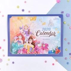 디즈니 프린세스 2020 캘린더