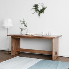[블랙러버] P형 식탁/테이블_(1405310)