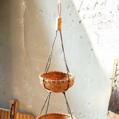 라탄 행잉 3단 바구니_(1767992)