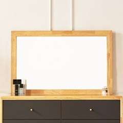 화장대거울 벽거울 거울 원목거울 사각경 와이드거울_(2423957)