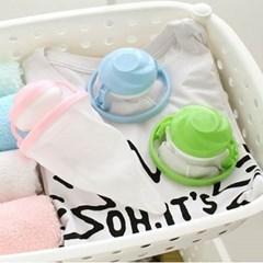 세탁기 먼지제거망1개(색상랜덤)