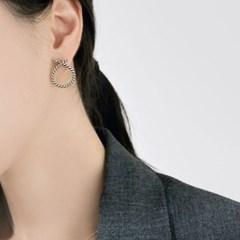 (92.5 silver) string earring