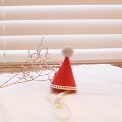 핸드메이드 고양이 요정고깔 모자 / 강아지 생일 고깔모자