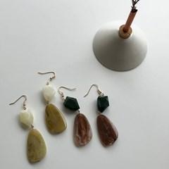 마블 이어링 (2color)