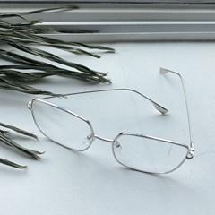 레트로 사각 안경 (2coclor)