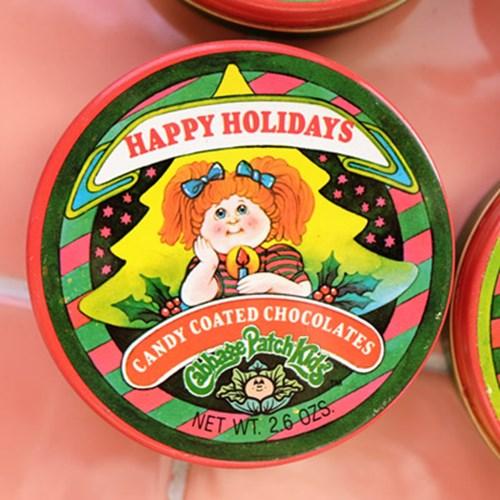 [Cabbage Patch Kids] 양배추인형 크리스마스 빈티지 틴케이스