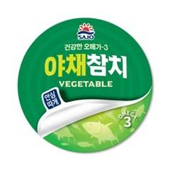 사조 안심따개야채참치100gx12캔