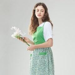 [클라모드] 로렌 앞치마 원피스