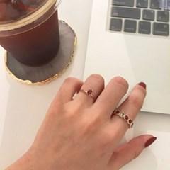 [925silver 가넷 반지] 줄리링