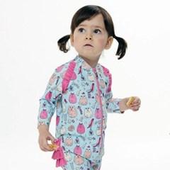 앨리빌리 캐시캣 올인원 아기 슈트