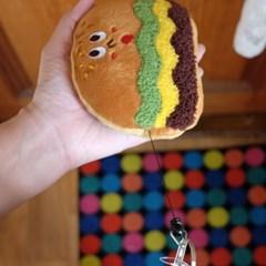 [GLADEE] 그라디 햄버거 카드케이스
