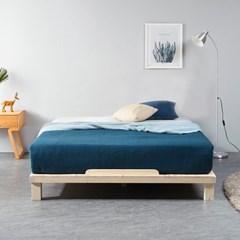 [잉카] 평상마루 소나무원목 저상형 침대프레임 슈퍼싱글