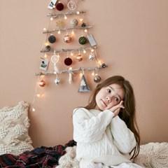크리스마스 풀세트 벽트리 벨벳 M