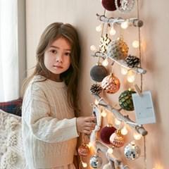 크리스마스 벽트리 풀세트 벨벳 L