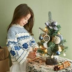 크리스마스 미니트리 풀세트 벨벳
