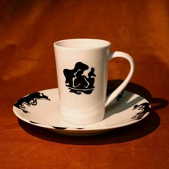 Mama (wd) _ french tea cup