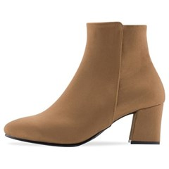 SPUR[스퍼] 앵클부츠 OF8060 Caramel camel boots 카멜