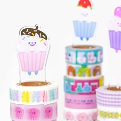 HAPPY SWEETS masking tape holder 3type