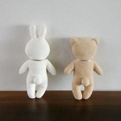 [핸즈][DIY] 유기농 easy 토순 & 곰순 인형 만들기