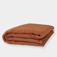 [플란뉴] 리얼코튼 숙면 패드 autumn brown_어텀브라운