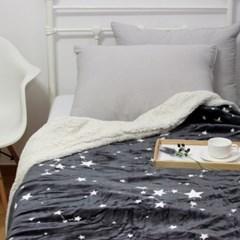 북유럽 패턴 밍크 블랑켓 담요 이불 180x210cm