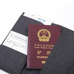 DELI 델리 누사인-NS463 패브릭 여권 파우치 no.NS463