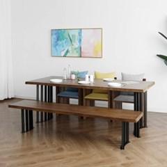 [세라피아] B형 6인용식탁/테이블 세트_(1412737)