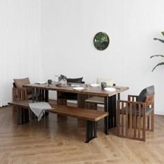 [세라피아] B2형 6인용식탁/테이블 세트_(1412735)