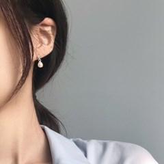 은볼 담수진주 드롭 귀걸이 [92.5 silver]