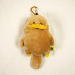 오리너구리 가방 고리 인형 [학생 키링 교통카드 동전 지갑]