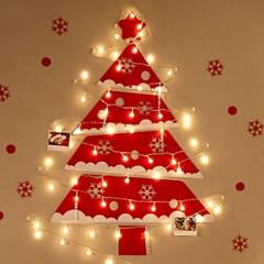 하우쎈스 크리스마스트리 펠트 벽트리풀세트 5종류