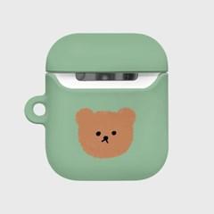 Dot big bear-pastel mint(Hard air pods)_(1369726)