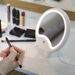 LED 조명 가습기 거울