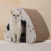 5H펫 삼각김밥 스크래쳐 고양이집