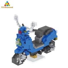 YZ046 나노블럭 아키텍쳐 미니블록 스쿠터 장난감