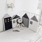 충돌방지쿠션 침대 범퍼쿠션 하우스 4P
