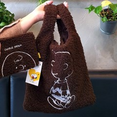 [Peanuts]찰리브라운 부클백(Charlie brown boucle bag)_(1766183)