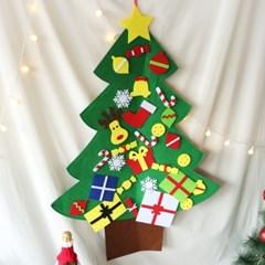 크리스마스 DIY 펠트 벽트리 풀세트