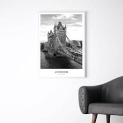 런던 타워브릿지 풍경 그림 인테리어 포스터