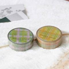 Autumn Check Masking Tape