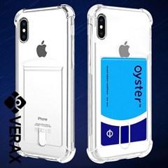 아이폰6S 크리스탈 카드 커버 젤리 케이스 P320_(2072113)