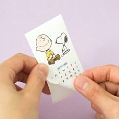 [Peanuts] 2020 미니 캘린더_화이트 스누피