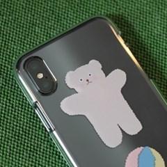 [ 아이폰 11 / 11 Pro ] CBB SC Bear hug_jelly case