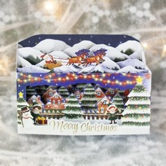 디원 크리스마스타운 팝업카드(JX11)
