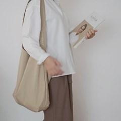 보누르 원스트랩 에코백 - beige