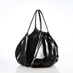 [스튜디오스비엘]플럼프백 Plump Bag(Black Enamel)_F