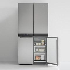 월풀 냉장고 6WQN1SS 세미 빌트인 4도어 양문형