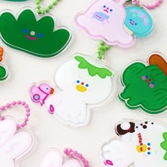 HAPPY FRIENDS keyring 9type
