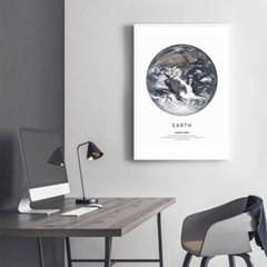 지구 그림 액자 인테리어 포스터