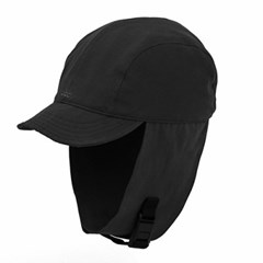 SQUARE EAR FLAP / NPC / BLACK